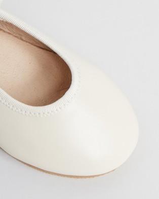 Little Fox Shoes Angel - Ballet Flats (Ivory)