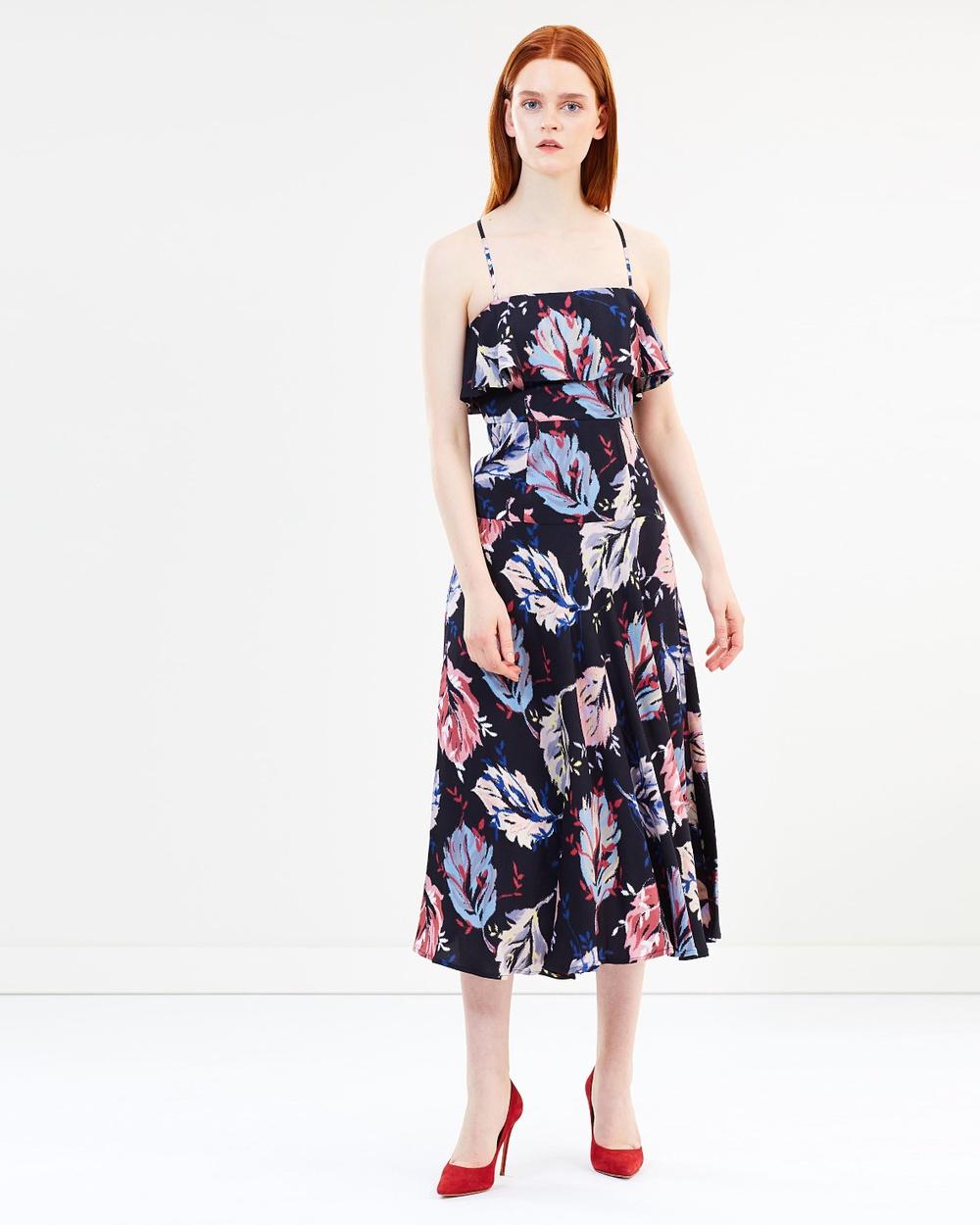 MAX & Co. Paino Dress Printed Dresses Black Pattern Paino Dress