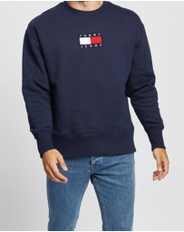 Tommy Jeans - Small Flag Crew