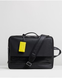Calvin Klein - Elevated Mix Briefcase-Backpack