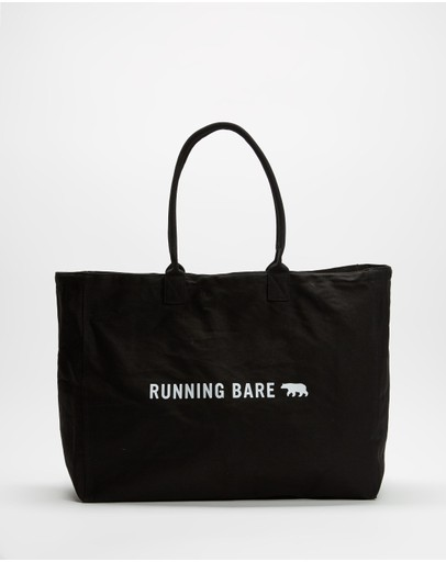 Running Bare - Totes Amazing Bear Tote