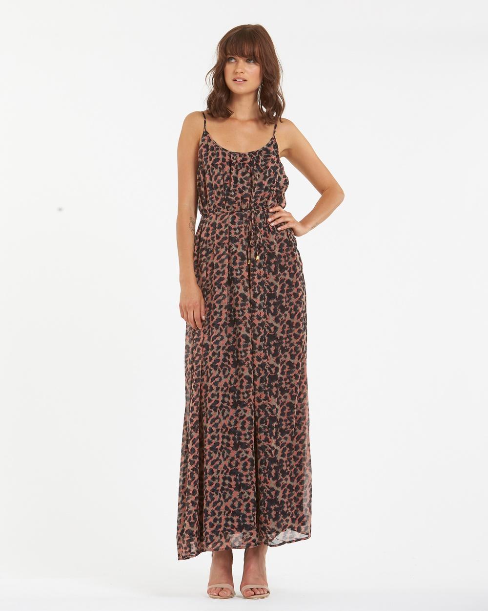 Amelius Cora Maxi Dress Printed Dresses Multi Cora Maxi Dress