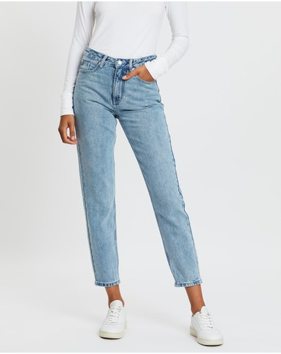 Assembly Label - High Waist Rigid Jeans