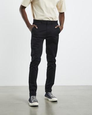 Arvust Hoxton Chinos - Pants (BLACK)
