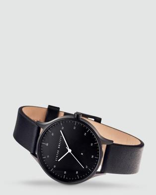 Status Anxiety Inertia - Watches (matte black / black face / black strap)