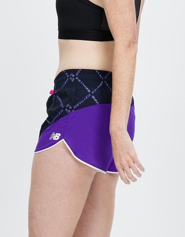 Women Fast Flight Printed Split Shorts