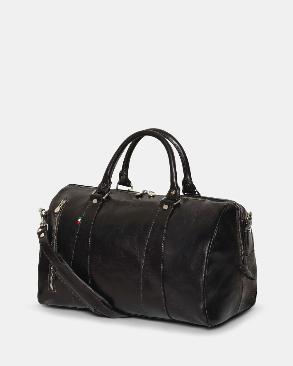 Republic of Florence Small Nardi Weekender Duffle Bags Black