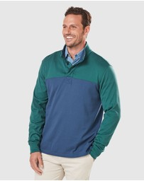Gazman - Button Panel Rugby Jumper