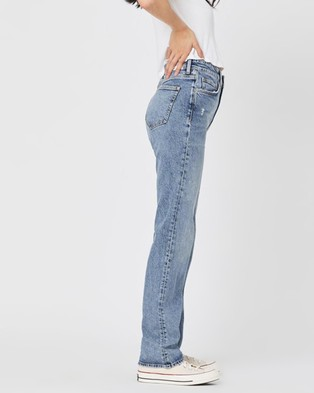Mavi Veronica Jeans - High-Waisted (Light Recycled Blue)