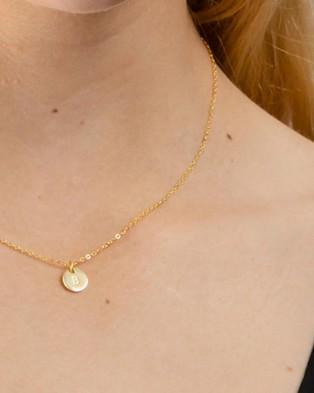 Dear Addison Kids - Letter B Necklace - Jewellery (Gold)
