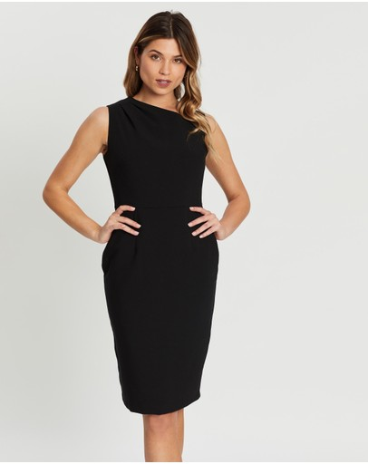 Dorothy Perkins - Asymmetrical Neck Dress