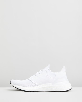 adidas Performance UltraBOOST 20   Men's Running Shoes - Performance Shoes (FTWR White, Grey Three F17 & Core Black)