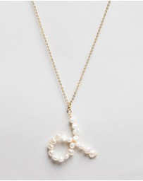 Reliquia Jewellery - Taurus Zodiac Sign Pearl Necklace