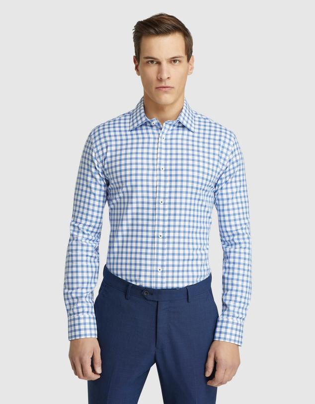 Men Islington Regular Fit Checked Shirt