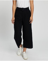 Hollister - Asia Linen Wide Leg Pants