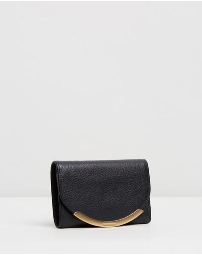 See By Chloé Lizzie Complete Medium Wallet Black