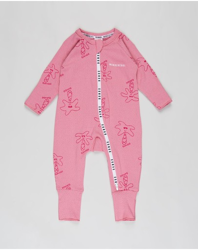Bonds Baby - Wondercool Eyelet Zip Wondersuit - Babies