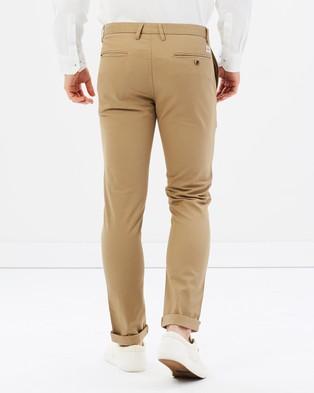 Ben Sherman Stretch Skinny Chino - Pants (Stone)