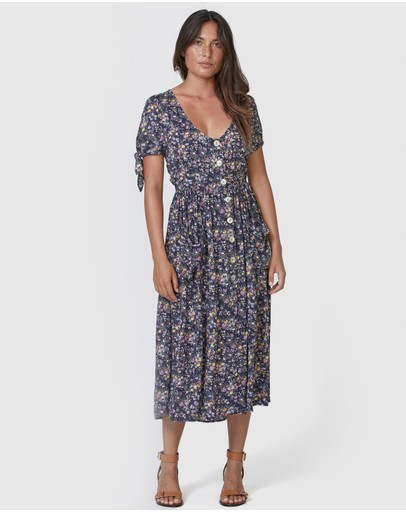 Auguste The Label - Lola Meadow Midi Dress