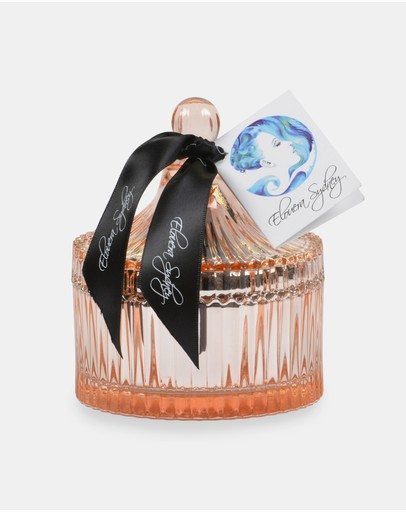 Elouera Sydney - Lychee and Peony Rose Gold Carousel Candle