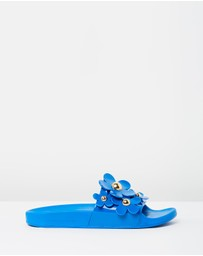 Marc Jacobs - Daisy Aqua Slides