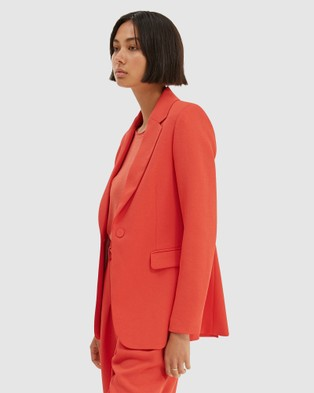 SABA Dharma Blazer - Suits & Blazers (orange)