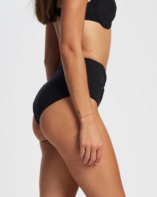 St. Swim Aveiro High Waist Bikini Bottoms - Bikini Bottoms (Black)