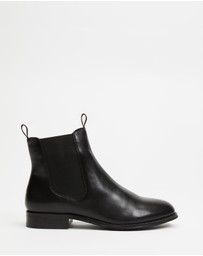 Atmos&Here - Georgia Leather Ankle Boots