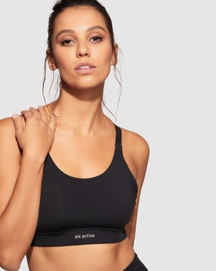 dk active Essential Crop - Crop Tops (Black)