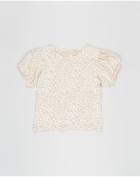 Cotton On Kids - Phoebe Puff Sleeve Top - Kids-Teens