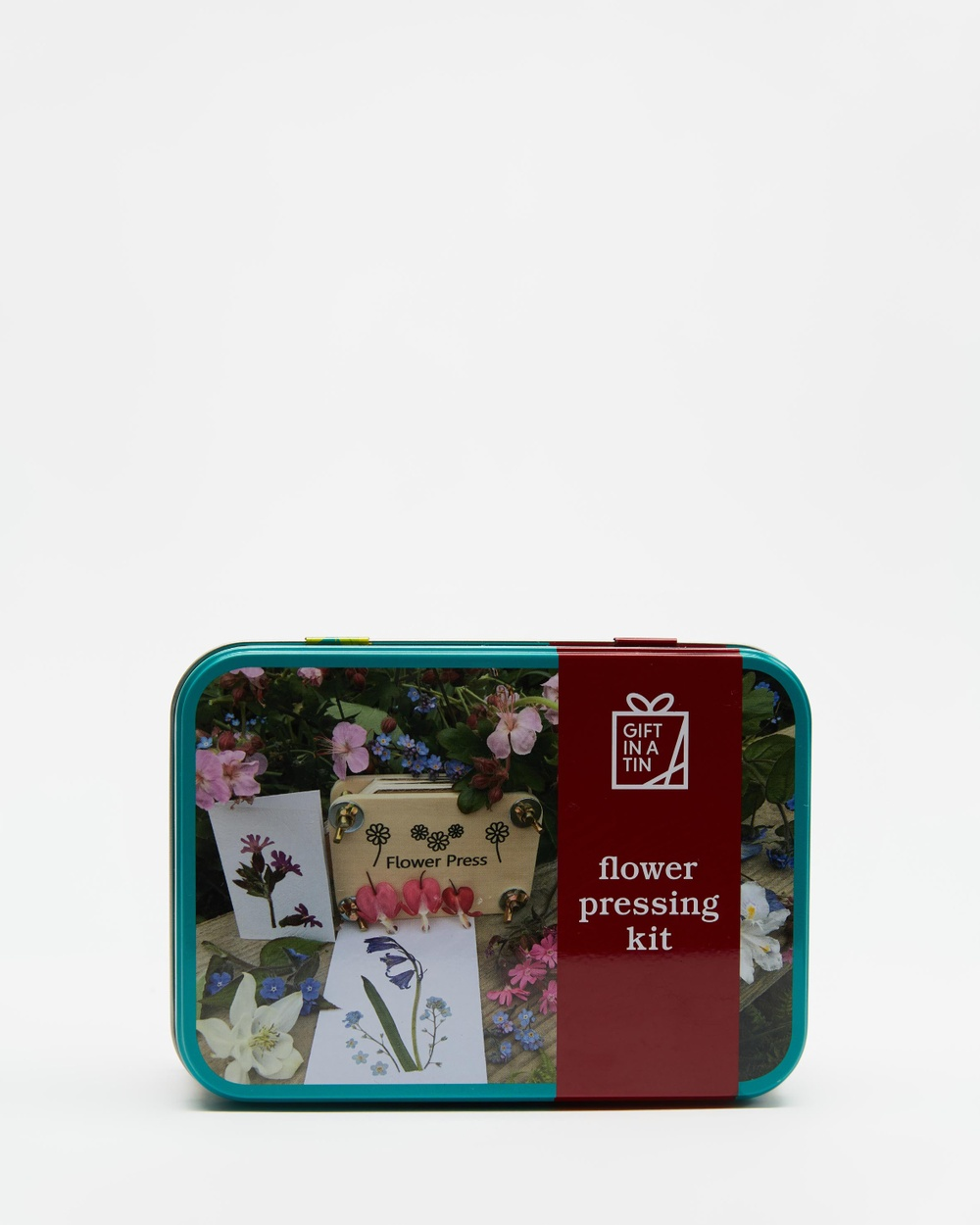 Apples to Pears Flower Pressing Kit In a Tin Accessories Natural
