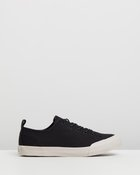 Mike Low Canvas Sneakers