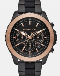 Michael Kors - Theroux Black Chronograph Watch