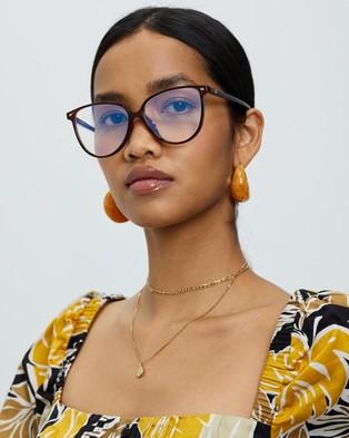 Le Specs Eternally Blue Light Glasses - Optical (Cherry)