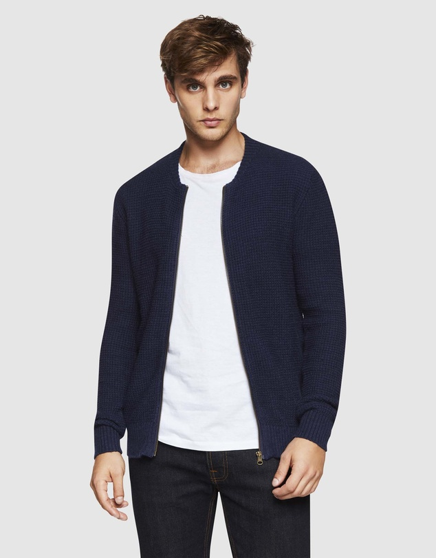 Oxford - Fergus Zip Cardigan