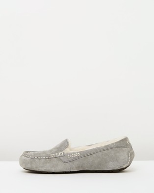 UGG Womens Ansley Slippers - Slippers & Accessories (Light Grey)