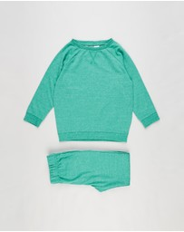 Cotton On Kids - Sadiye Long Sleeve Pyjama Set - Kids-Teens