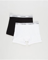 Calvin Klein - 2-Pack Modern Cotton Boxer Briefs - Teens
