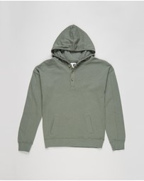 Free by Cotton On - Henley Free Hoodie - Teens