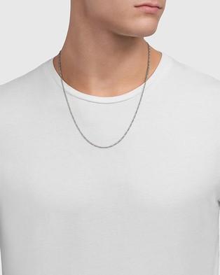 Miansai Figaro Chain Necklace - Jewellery (Sterling Silver)