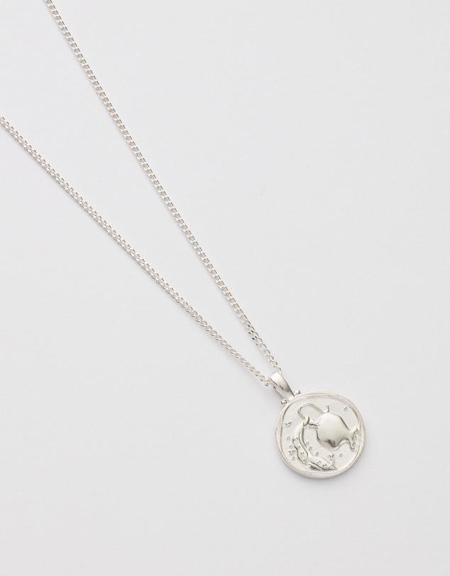 Women Aquarius Zodiac Necklace