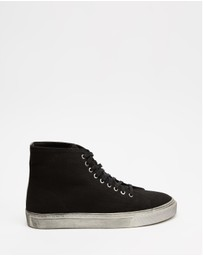 Locale - Bronx Canvas High Top Sneakers