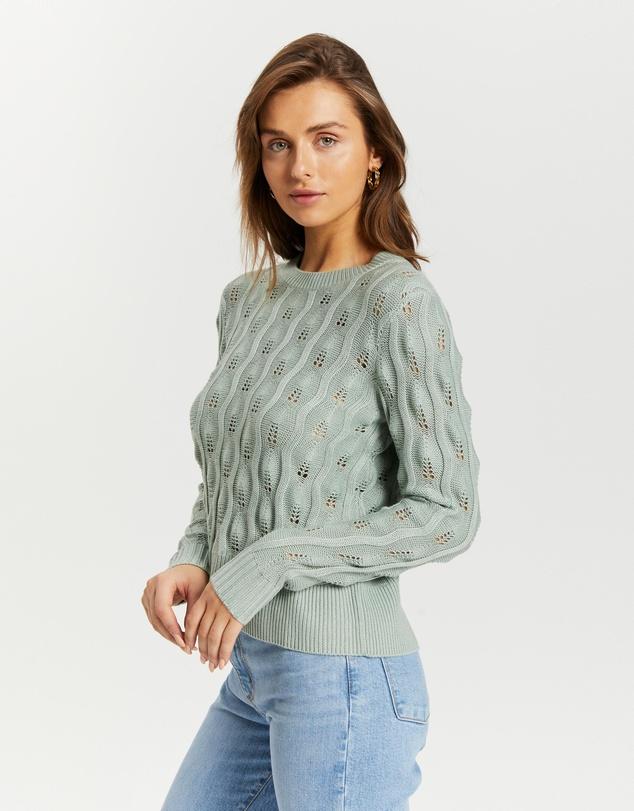 Women Charlotte Textured Knit