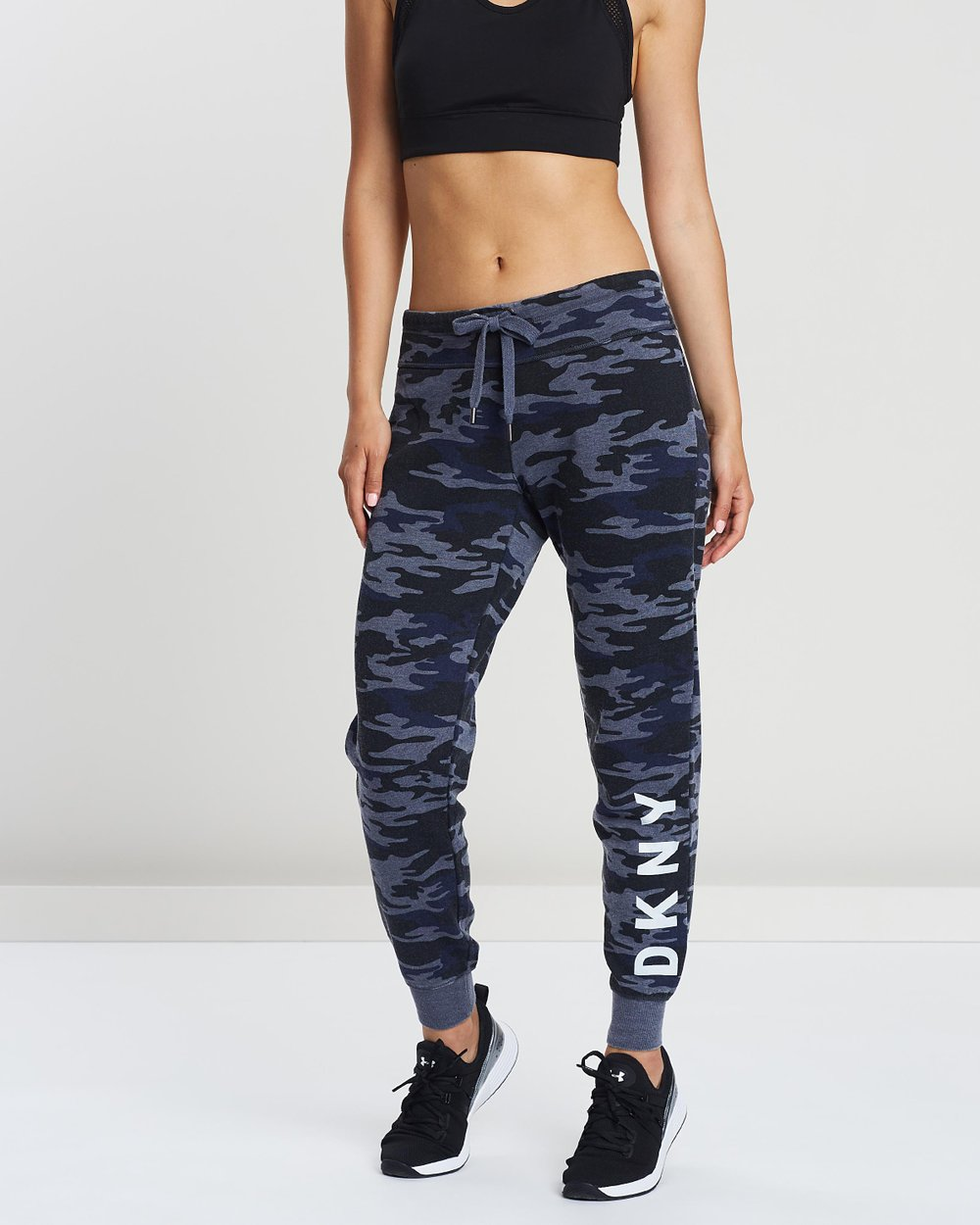 Camo Print Slim Fit Jogger Pants by DKNY Online  92b84a0ac27