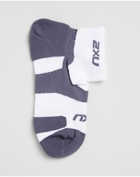 2XU - Vectr Light 1/4 Crew Socks - Unisex