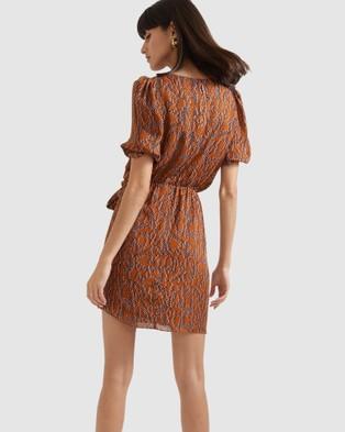 SABA Lira Mini Dress - Printed Dresses (multi)