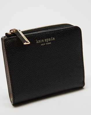 Kate Spade Margaux Small Bifold Wallet - Wallets (Black)
