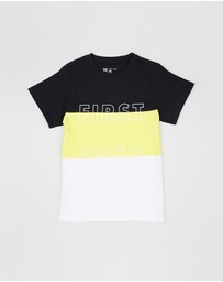 First Ever Kids - Colour-Blocked T-Shirt - Teens