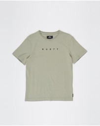 Rusty - Short Cut Short Sleeve Tee - Teens