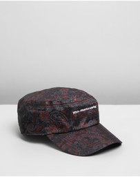 White Mountaineering - Bandana Printed Work Cap